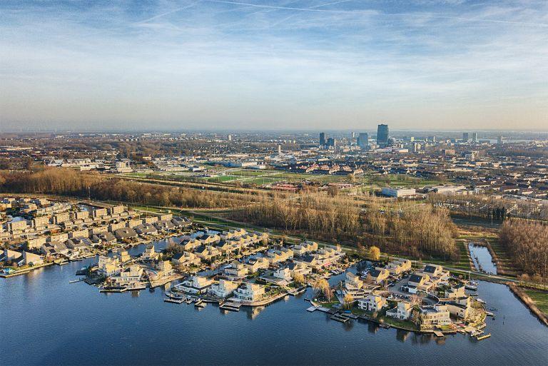 Noorderplassen neighbourhood in Almere