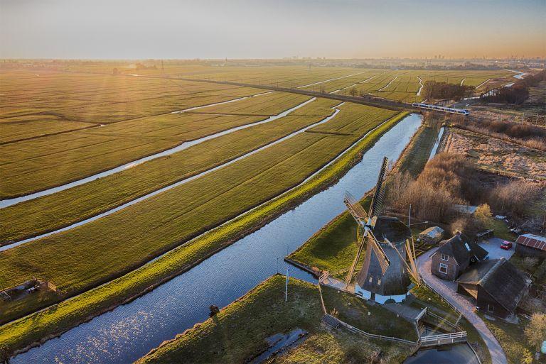 Windmill Meermolen de Onrust from my drone