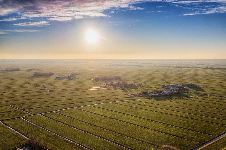 Fields near Bunschoten-Spakenburg