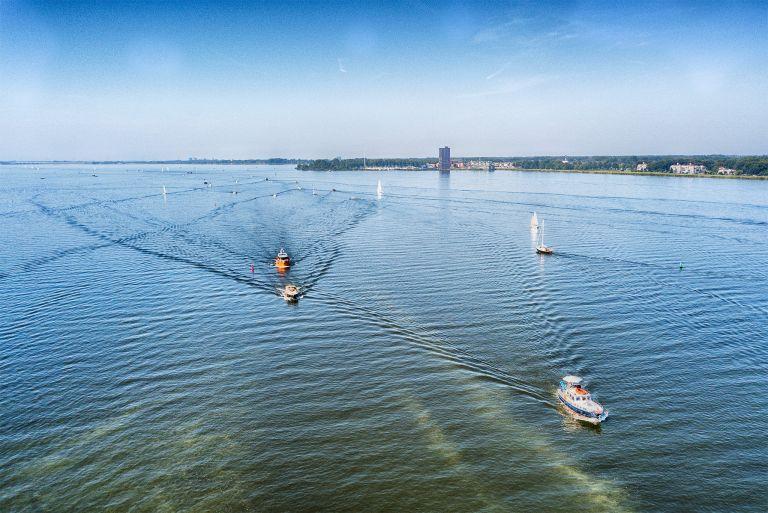 Lake Gooimeer by drone