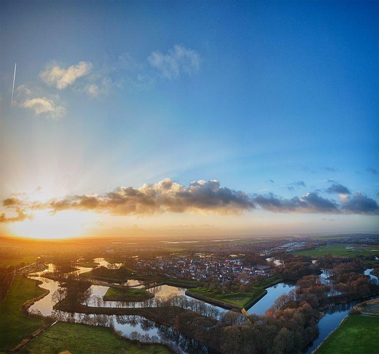 Naarden-Vesting from my drone