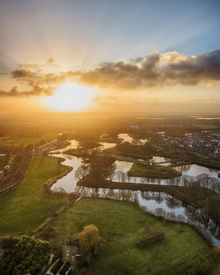 Naarden-Vesting from my drone