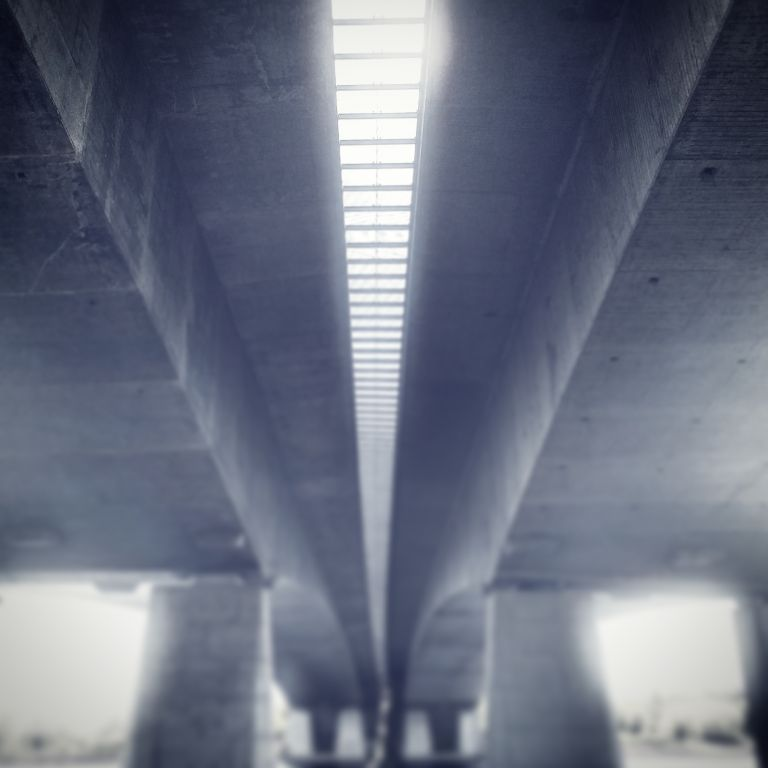 Stichtse Brug from below
