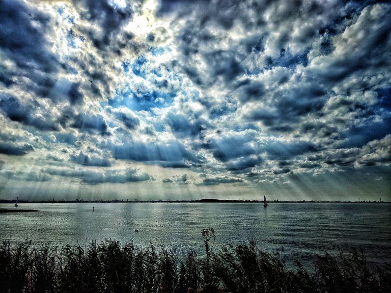 IJmeer from Oostvaardersdijk