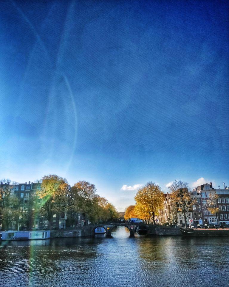 Prinsengracht in autumn
