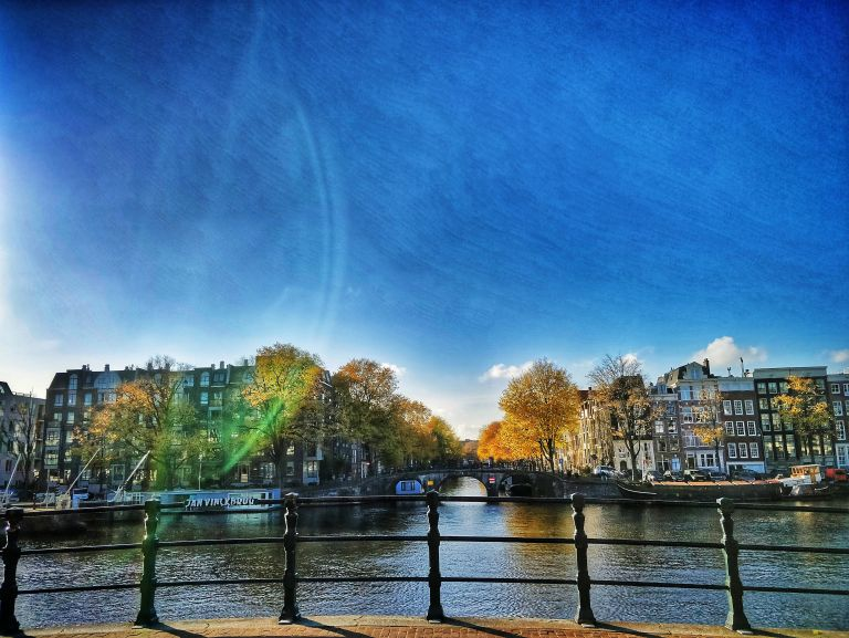 Amsterdam autumn colours